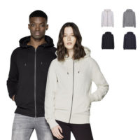 continental clothing heavy zip up hoody