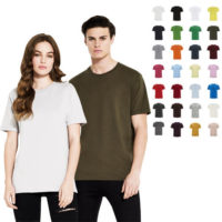 continental clothing unisex organic cotton t