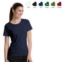 Neutral ladies interlock t