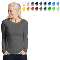 Neutral ladies ls t-shirt