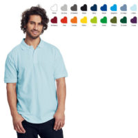 Neutral mens polo short sleeve