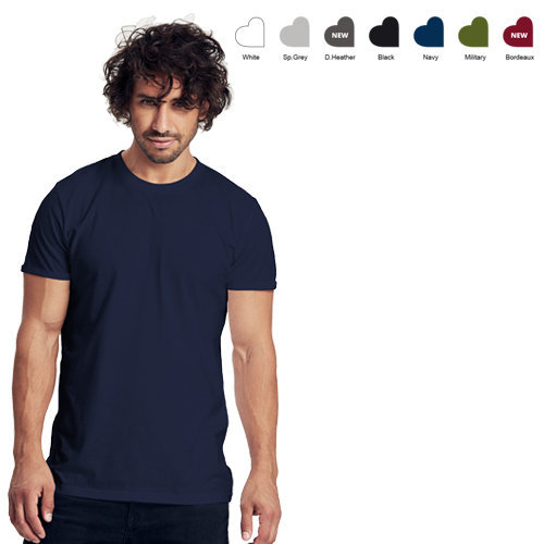 Neutral mens roll-up t