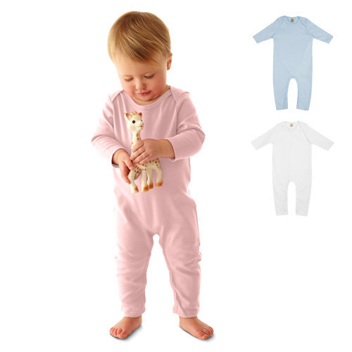 continental clothing ep organic baby jumpsuit
