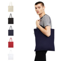 continental clothing organic shopper tote bag