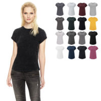 continental clothing salvage womens rolled sleeve t