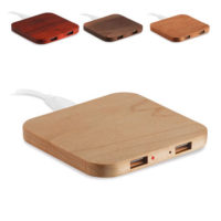 wireless oplader hout