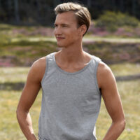 Green Premium Neutral Tank Top Men Sfeer