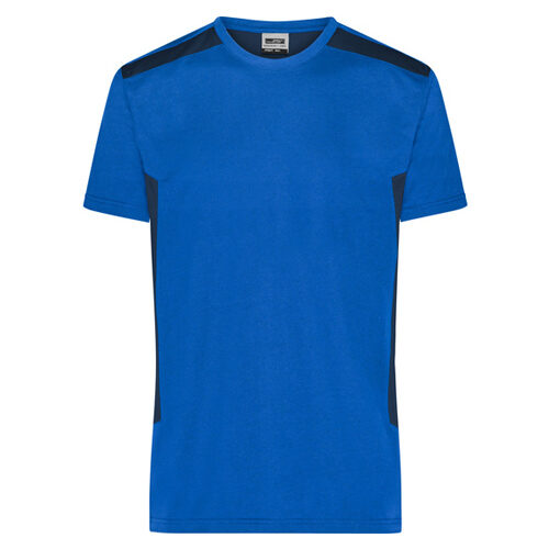 Green Premium men's workwear t-shirt blauw
