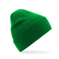 Green Premium beanie bottle green